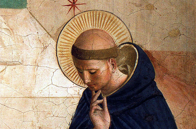 Saint Dominic Detail from The Mocking of Christ