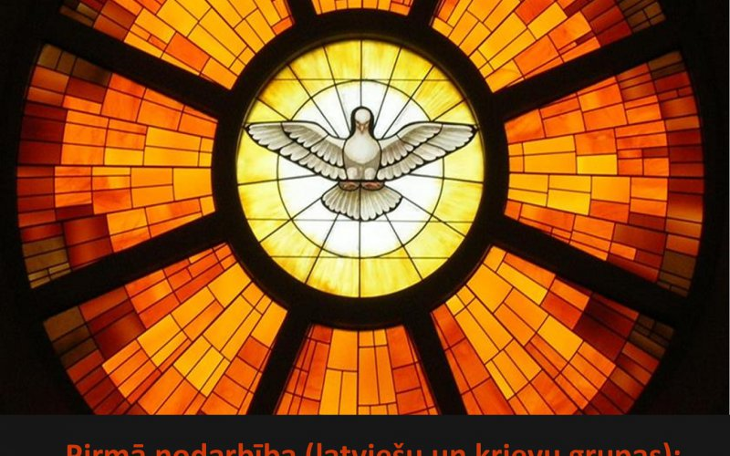 Katehēzes nodarbības Iestiprināšanas sakramenta piešķiršanai