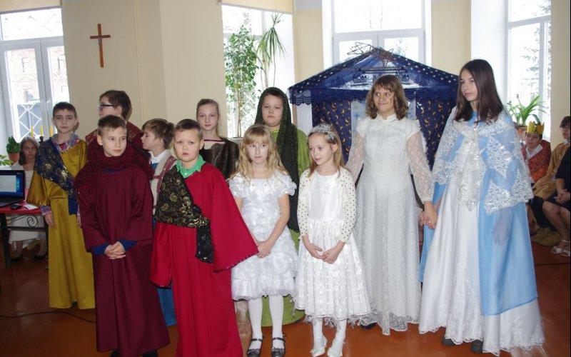 Svētdienas skolas Ziemassvētki